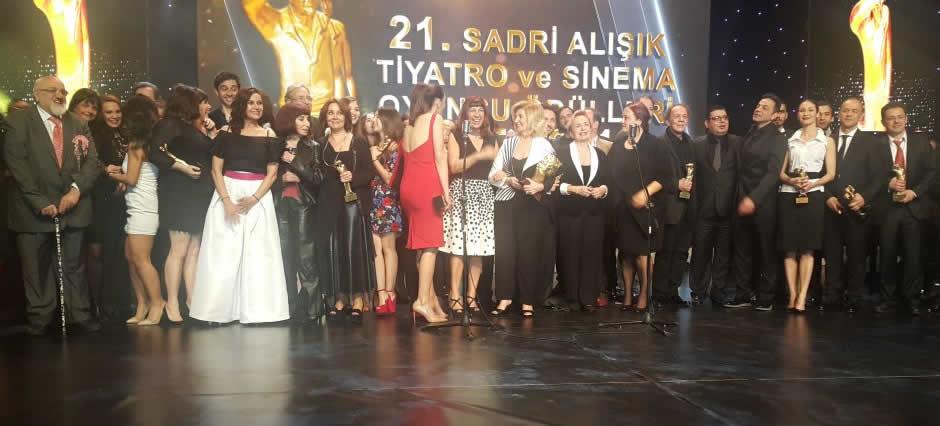 21. Sadri Alışık Sinema Oyuncu Ödülleri (2016), Yılın En Başarılı Yardımcı Kadın Oyuncusu